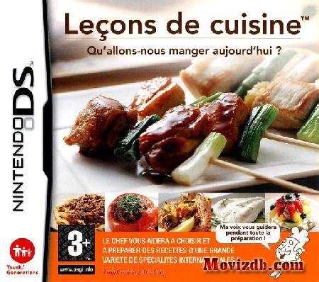 lecon de cuisine leçon de cuisine ds luxe