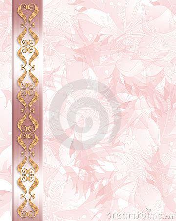 wedding invitation elegant pink stock images image