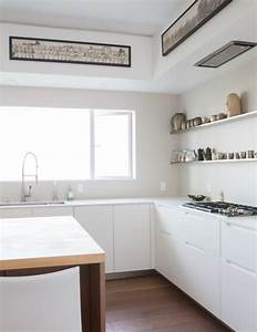 1906 edwardian home gets modern kitchen bathroom With kitchen colors with white cabinets with long narrow horizontal wall art