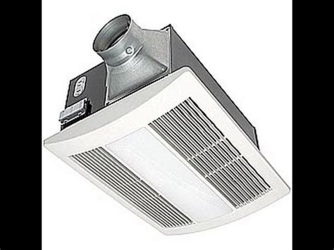 panasonic install a bathroom fan with heater and
