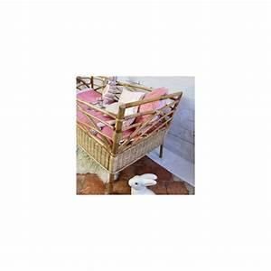 Lit Enfant Vintage : lit pour enfant ou b b en rotin bambou naturel vintage ann es 50 ~ Teatrodelosmanantiales.com Idées de Décoration