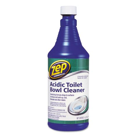 acidic toilet bowl cleaner by zep commercial 174 zpe1046423 ontimesupplies