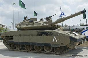 Merkava 4 Main Battle Tank