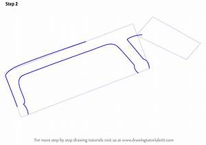 Learn How to Draw a Hacksaw (Tools) Step by Step : Drawing ...