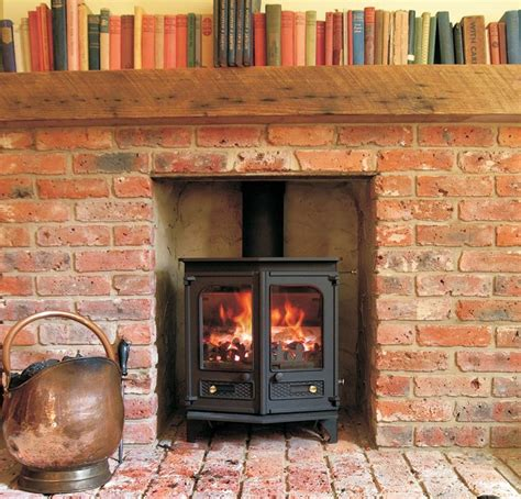 brick fireplace brick fireplace with log burner log burners pinterest fireplaces jack o connell and the