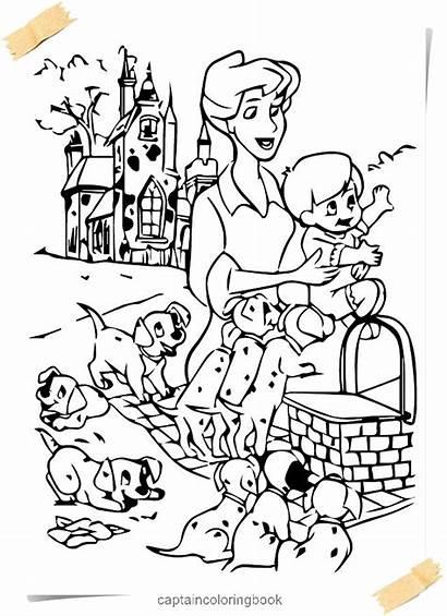101 Dalmatians Coloring Pages Roger Title