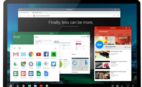 jide launches remix os player  full android control