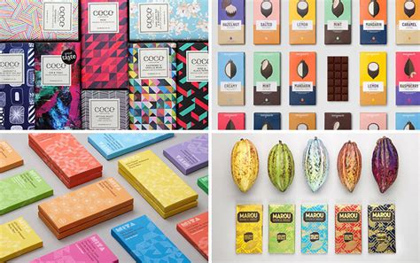 13 Chocolate Bar Brands That Emphasize Graphic Design On