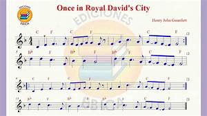 """""""ONCE IN ROYAL DAVID´S CITY"""" VIDEO PARTITURA - YouTube"""