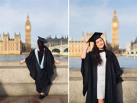 graduation photo shoot  westminster london margarita