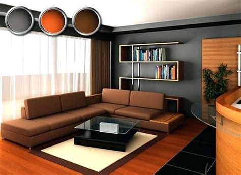 what color walls look with brown furniture