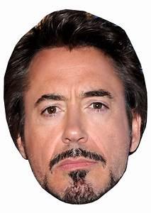 Robert Downey Jr - DIY Celebrity Face Mask Kit