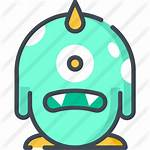 Monster Icon Icons Premium Bicolor