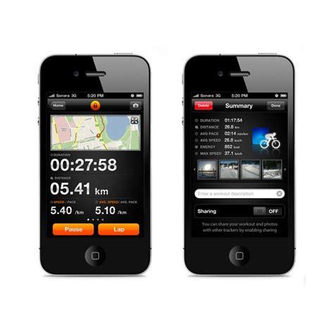 shape  sports tracker iphone app