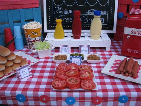 Hot Dog Buffet Hot Dog Bar Pinterest