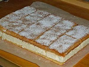 Biskuitrolle mit Zitronen Quark Füllung (Rezept mit