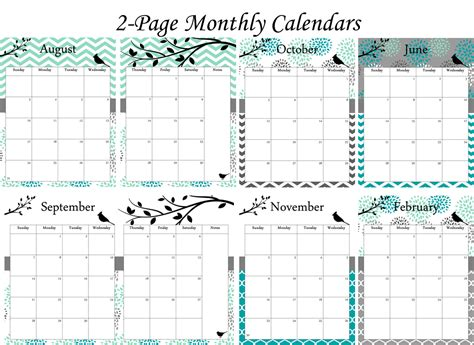 free daily calendar 2015 6 best images of free printable planner 2014 2015 free