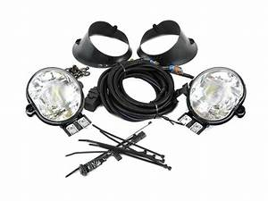 Dodge Ram 1500 Fog Lights  Complete Kit  Includes Switch  Bezels  Wire Assembly And