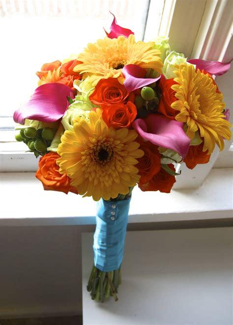 flower girl blog bright summer wedding flowers