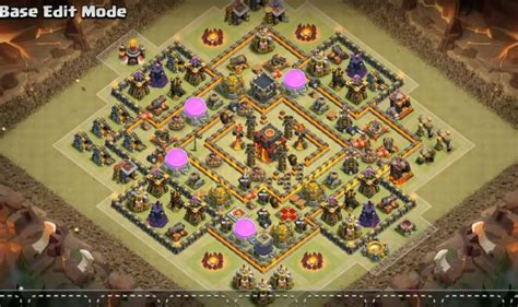 3 th10 layouts with 2 th10 war base anti 3 coc 3 th