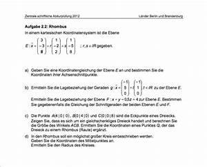 Abi Durchschnitt Berechnen : mathe abi 2012 bung koordinatengleichung ebene gerade ~ Themetempest.com Abrechnung
