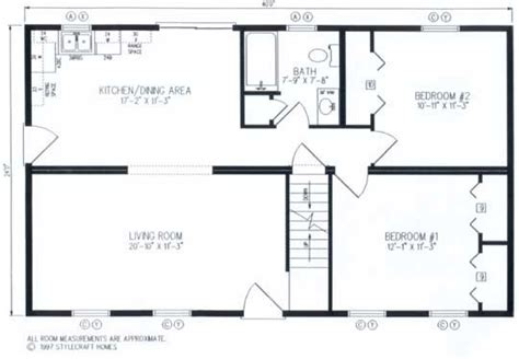 sterling modular homes  bungalow floor plans home addition plans floor plans ranch