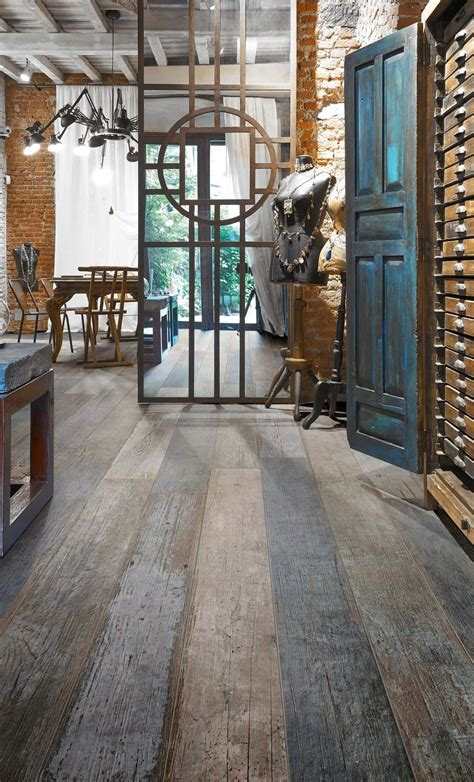 amazing distressed wood  tile