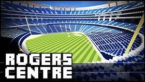 Minecraft Rogers Centre Stadium YouTube