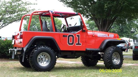 general jeep  dukes  hazzard style yj jeepfancom