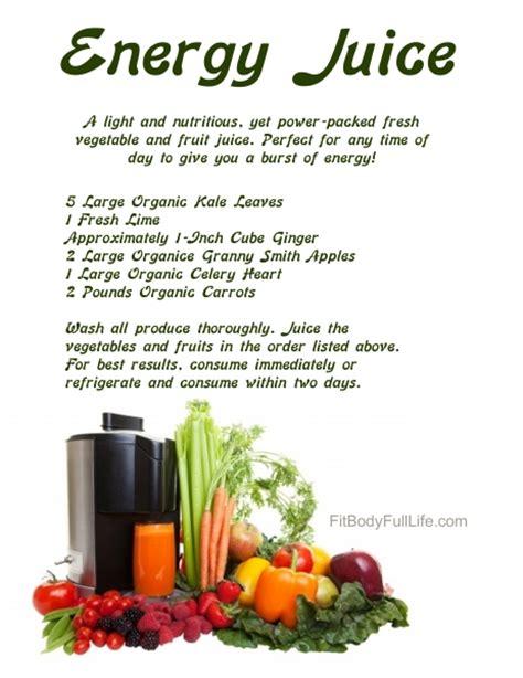 energy juice recipes nutrition recipe challenge healthy fruit vegetable juicing health juices smoothie making diet drinks body adults boost vegan