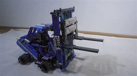 lego technic alternative forklift lego technic 42042 alternative model my design