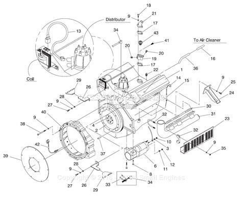 generac engine parts diagram auto electrical wiring diagram