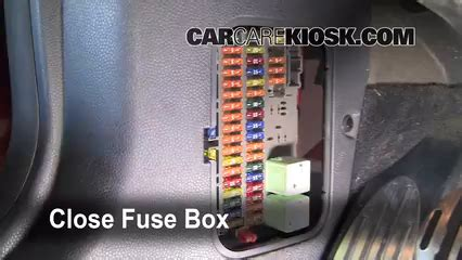 interior fuse box location   mini cooper  mini cooper    cyl supercharged
