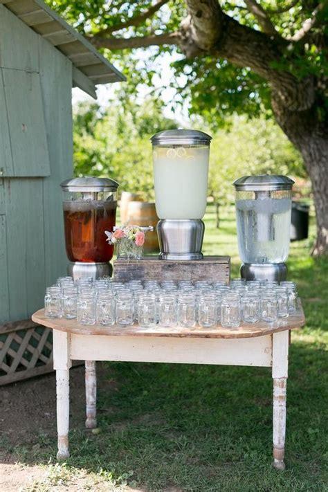 mouth watering wedding fooddrink bar ideas