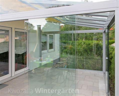 überdachung terrasse glas verglasungen mit fl 228 chigen glaselementen kwozalla