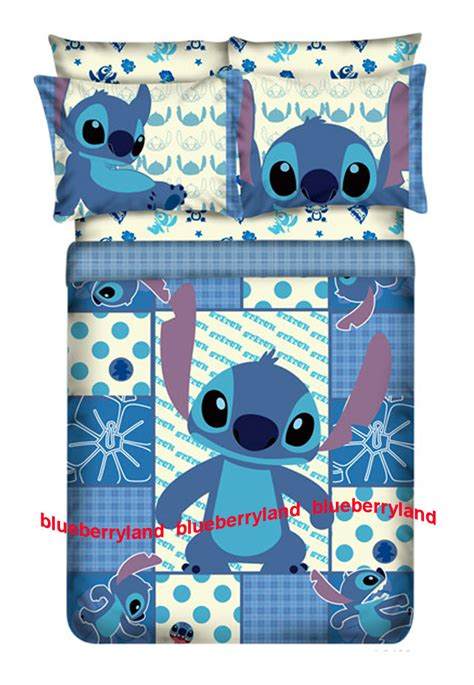 lilo and stitch bed set disney stitch size bedding duvet cover fitted sheet