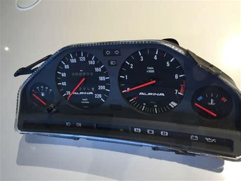 Dashboard  Cockpit  Alpina  Bmw E30  M3 E30 1986