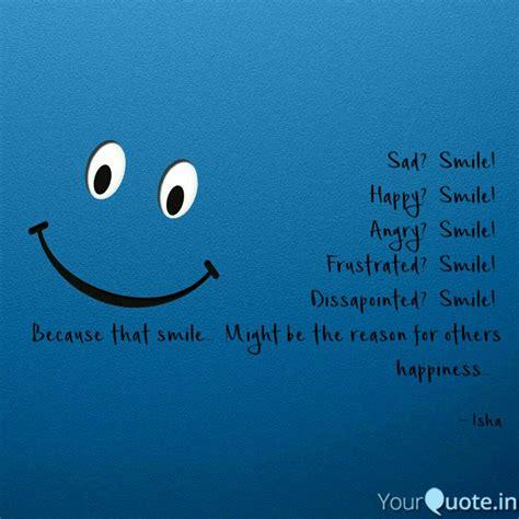 sad smile happy smi quotes writings  isha