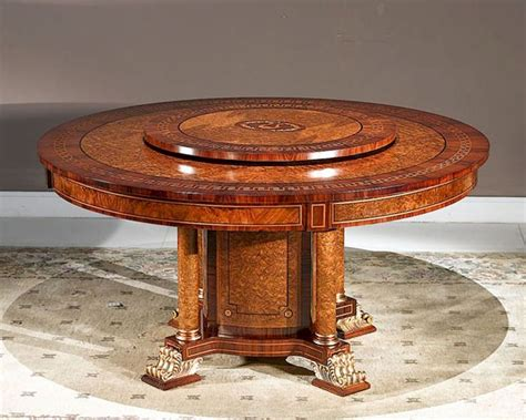 infinity furniture dining table  lazy susan orpheus inop