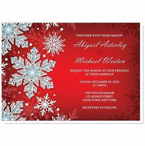 royal red white blue snowflake wedding invitations at With royal blue wedding invitations canada