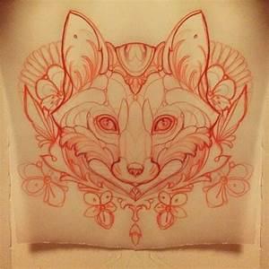 Sketching a fox #fox #tattoo #missjuliet | Tattoos ...