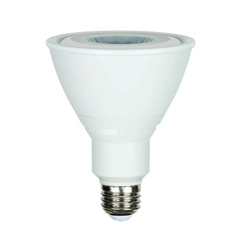 luminance 10w equivalent 3 000k par30 dimmable led light