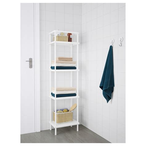 40 Cm Wide Bookcase by Dynan Shelf Unit White 40 X 27 X 148 Cm Ikea