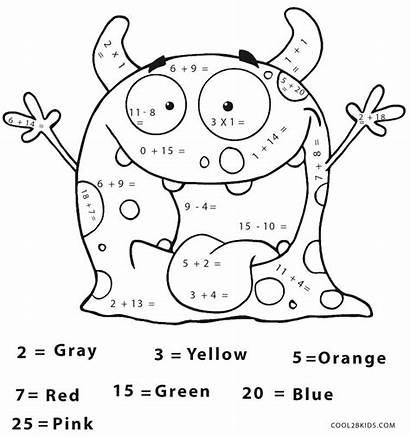 Math Coloring Pages Facts Printable Getcolorings