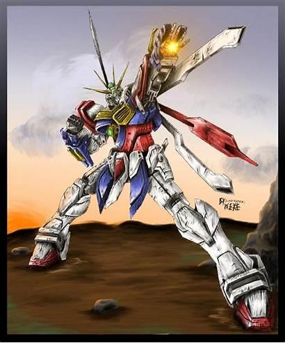 Gundam Burning Strongest Shining God Wallpapers Mobile