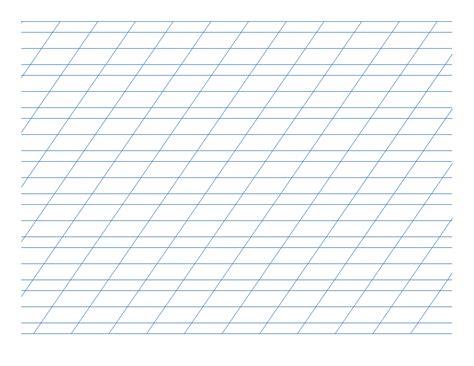 italic practice paper landscape