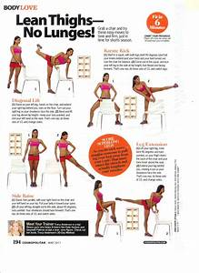 Tracy Anderson Cosmo Lean Thighs No Lunges | Fitty