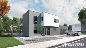 modeles et plans de maisons s a construire avec maisons vesta With plan maison demi niveau 1 maison 224 demi niveau moselle meurthe et moselle