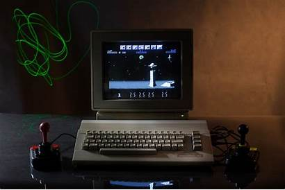 Retro Computer Commodore Games 64 Joystick Gaming