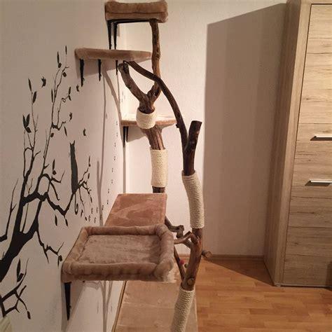 kratzbaum aus baumstamm selber bauen diy naturkratzbaum selber bauen katzenblog de